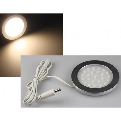 10 led aufbauleuchte abl r70 warmwei unterbau leuchte licht 12v 2w. Black Bedroom Furniture Sets. Home Design Ideas
