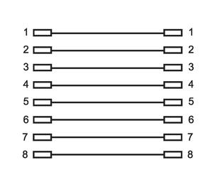 rj45 kupplung adapter patch kabel verl ngerung modular lan cat5 dsl isdn netzwer ebay. Black Bedroom Furniture Sets. Home Design Ideas